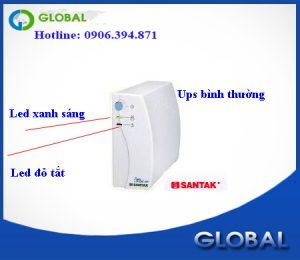 Sử dụng bộ lưu điện santak tg1000va