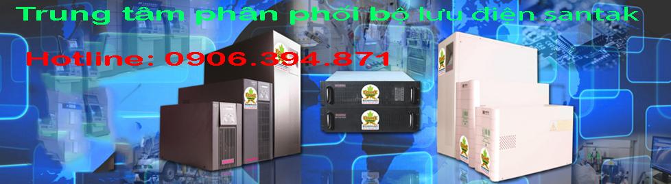 Trung tâm phân phối bộ lưu điện santak tại tphcm