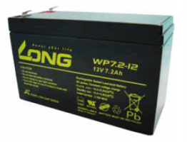 Long AGM VRLA 12V-7.2Ah (WP7.2-12)
